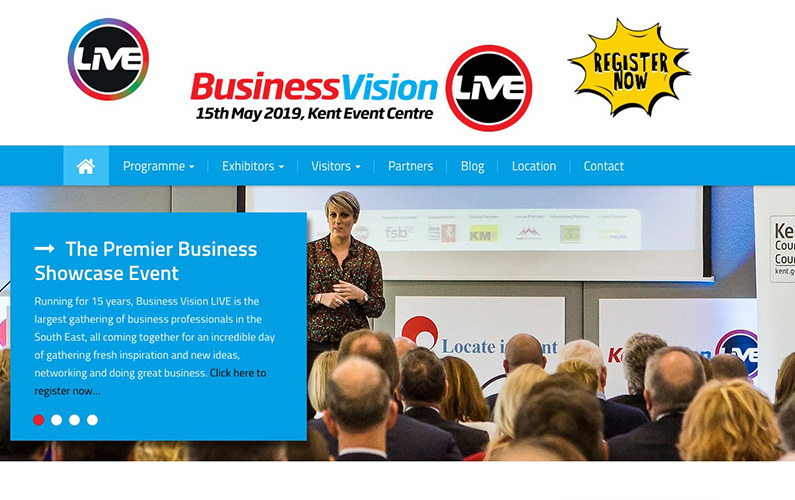 Adam to be a Keynote speaker at Business Vision Live 2019