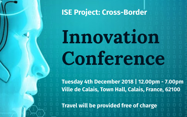 Adam speaks in Calais, France, at the Innovation Conference on The Workforce of the Future
